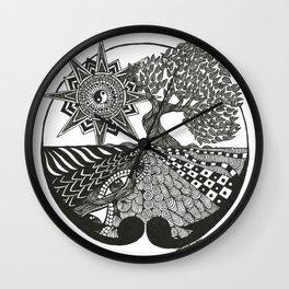 SACRED TREE Wall Clock