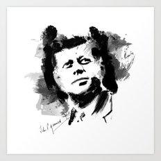 John F. Kennedy JFK Art Print