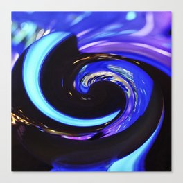 Swirling colors 01 Canvas Print
