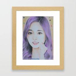Kpop Twice Tzuyu Framed Art Print