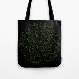 geometric circle Tote Bag