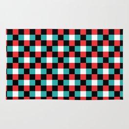 Pixeled Squares Rug