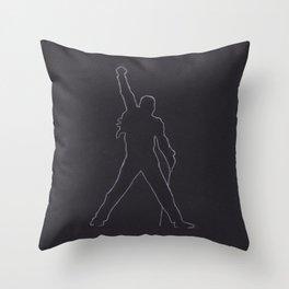 Ready Freddie Throw Pillow