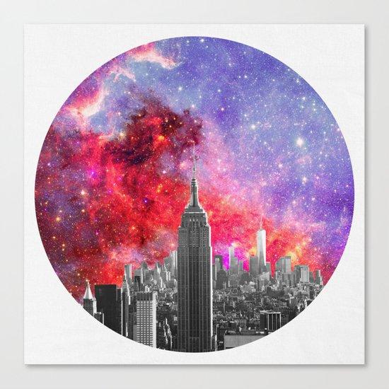 NEBULA NEW YORK Canvas Print