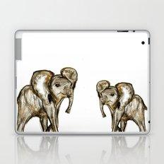 Baby Elephant Blue Laptop & iPad Skin