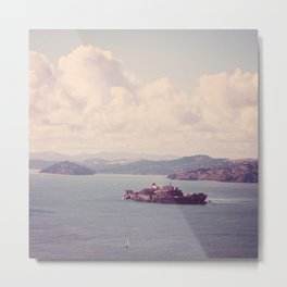 The Rock - San Francisco, California Metal Print