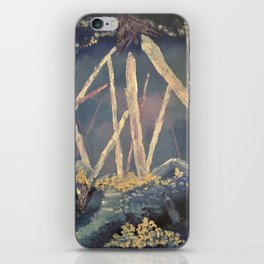 The Healing Crystal cave iPhone Skin