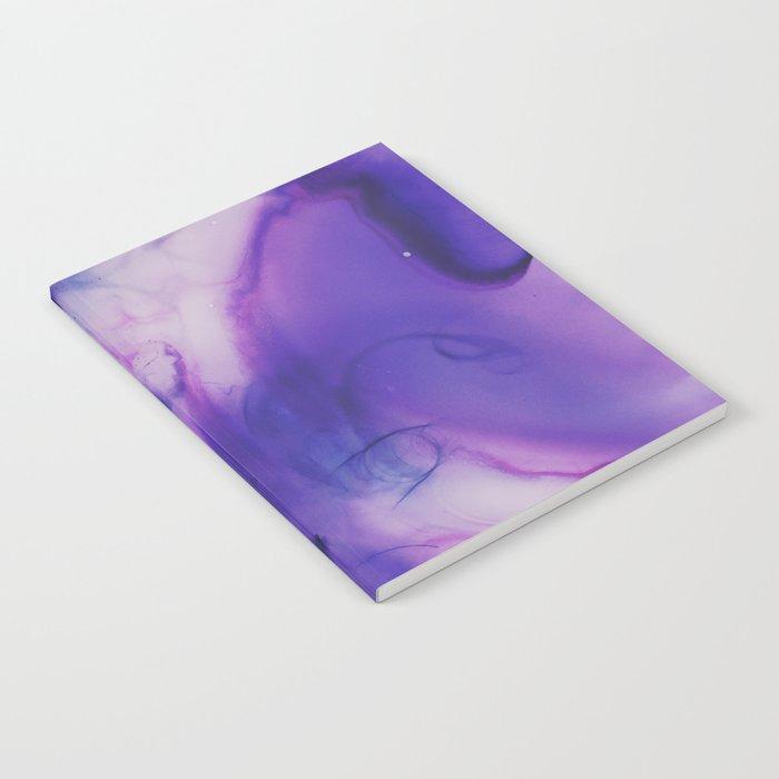 Violet Aura Notebook
