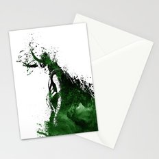 Loki Watercolor Stationery Cards
