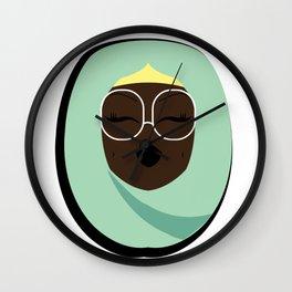 Jade Muslimah Wall Clock