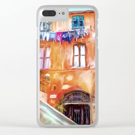 Home, Sweet Home Clear iPhone Case
