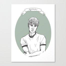 Finn Canvas Print
