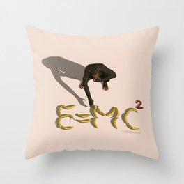 Simi-einstein Throw Pillow