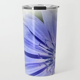 purple blue chicory Travel Mug