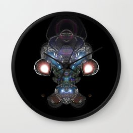 Visions Of Kepler Wall Clock