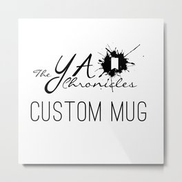 Custom Mug - Gold Metal Print