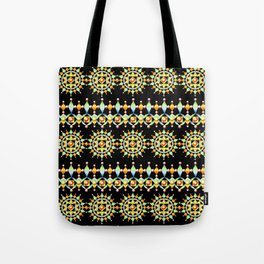 Bijoux Sunburst Stripe Tote Bag