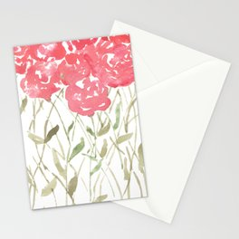 A Bunch Of Red Roses Stationery Cards