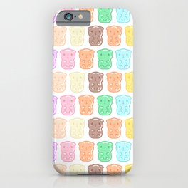 Rainbow Gummy Candy Guinea Pigs Pattern  iPhone Case