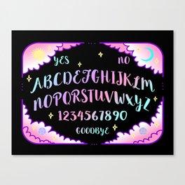Pastel Dreams Spirit Board Canvas Print