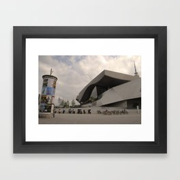 BMW Headquaters Framed Art Print