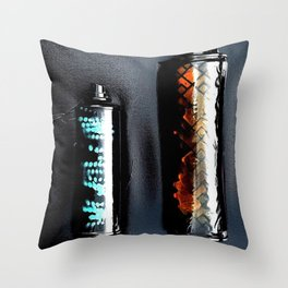 Waste Not Throw Pillow