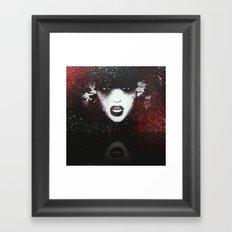 Abstract Grunge JJ Color  Framed Art Print