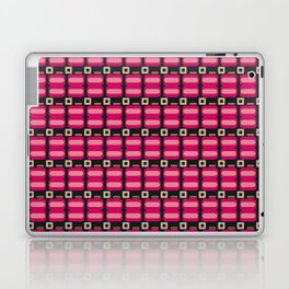Pink and Black 60´s Vintage Laptop & iPad Skin