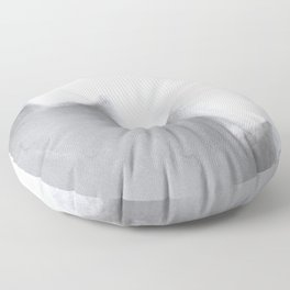 White and Minimal Floor Pillow
