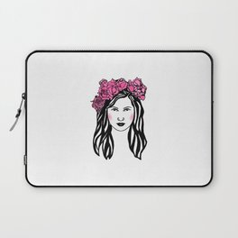 Roses are red... I love flowers..  Laptop Sleeve