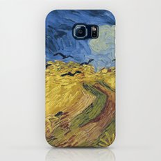 Wheatfield with Crows by Vincent van Gogh Galaxy S8 Slim Case