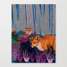 night hunt Canvas Print