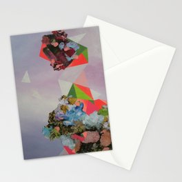 Mineral Fracture Stationery Cards