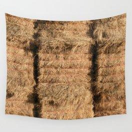 Hay Bales Wall Tapestry