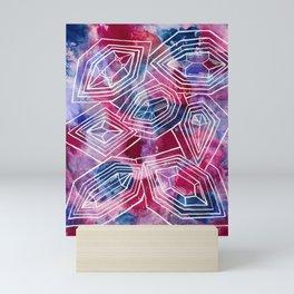 Watercolor Jewels and Gems Mini Art Print