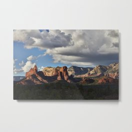 Some of the stunning red rocks for which Sedona in nothern Arizona is famous These are some of the m Metal Print