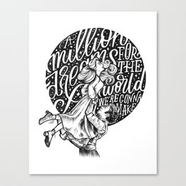A Million Dreams Canvas Print
