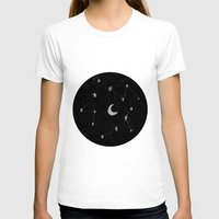 constellations T-shirts featuring constellations II by TRANSLÚCIDO