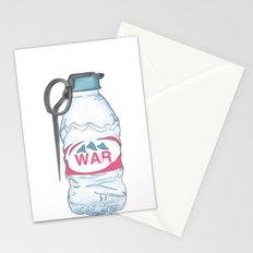 water bottle grenade  Stationery Cards