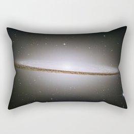 Hubble Space Telescope - Hubble mosaic of the majestic Sombrero Galaxy Rectangular Pillow