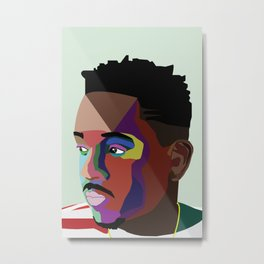 King Of New York Metal Print