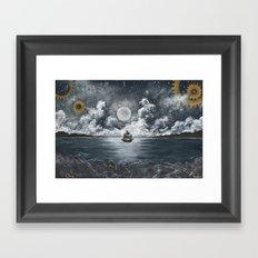 Nautical Journey Framed Art Print