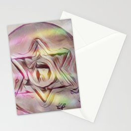 Floating Star Of David Stationery Cards