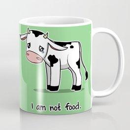 I Am Not Food Coffee Mug