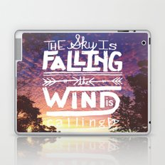 The sky is falling, the wind is calling Laptop & iPad Skin