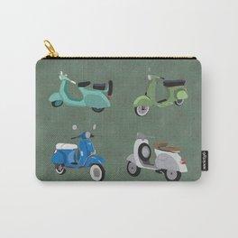 Vintage Vespas Carry-All Pouch