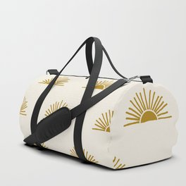 Sol in Natural Duffle Bag
