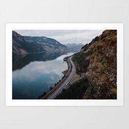 Columbia River Gorge III Art Print