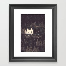 cats-61 Framed Art Print