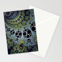 Miraculous patterns in circles Stationery Cards